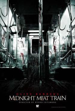 Naktinis skerdynių traukinys / The Midnight Meat Train (2008) online